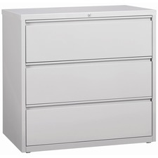 3-Drawer Light Gray