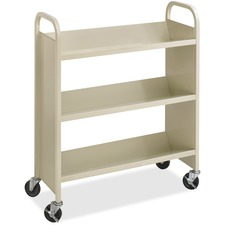 Steel 3-Shelf Singl
